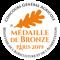 Médaille de bronze - Paris 2019>